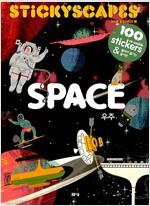 스티커 풍경 : 우주