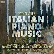 [수입] 20세기 이탈리아 피아노 작품집 [20CD]