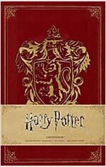 Harry Potter: Gryffindor Ruled Pocket Journal (Hardcover)