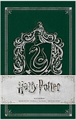 Harry Potter: Slytherin Ruled Pocket Journal (Hardcover)