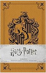 Harry Potter: Hufflepuff Ruled Pocket Journal (Hardcover)