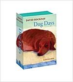 David Hockney Dog Days: Notecards (Postcard Book/Pack)