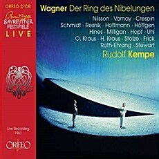 [수입] 바그너 : 니벨룽겐의 반지 전곡 (1961년 바이로이트 실황) [13CD for 5]