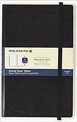 Moleskine Smart Paper Tablet, Large, Black, Dotted, Hard Cover (5 X 8.25) (Hardcover)