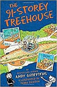 The 91-Storey Treehouse (Paperback, 영국판, Main Market Ed.)