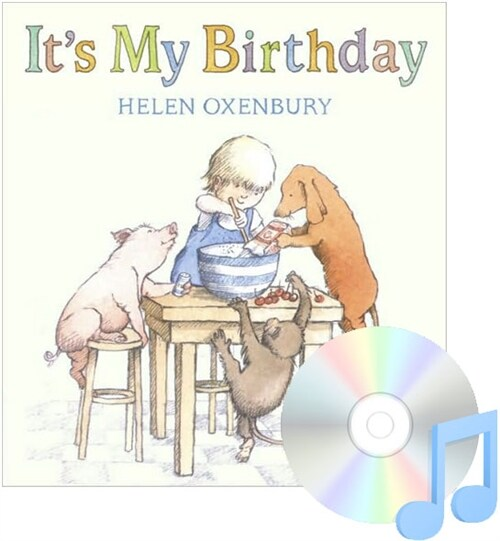 Pictory Set 1-28 / Its My Birthday (Paperback + Audio CD)