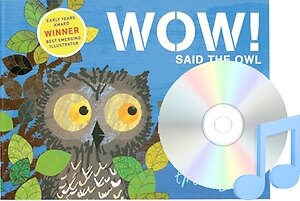 Pictory Set 1-37 / Wow! Said the Owl (Paperback + Audio CD, Step 1)