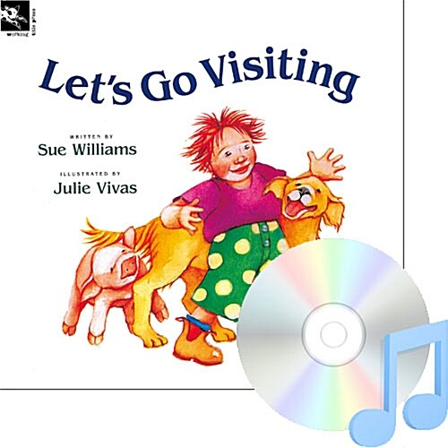 Pictory Set PS-10 / Lets Go Visiting (Book, Audio CD, Pre-Step)