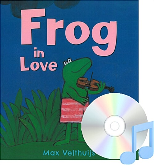 Pictory Set 3-04 / Frog in Love (Paperback + Audio CD)