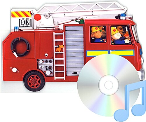 Pictory Set IT-05 / Fire Engine (Book, Audio CD, Infant&Toddler)