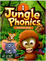 Jungle Phonics 1 Student Book (Book + MP3 CD + Class Booster)
