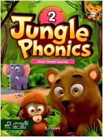 Jungle Phonics 2 Student Book (Book + MP3 CD +  Class Booster)