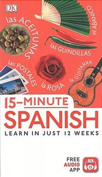15-Minute Spanish: Learn in Just 12 Weeks (Paperback)