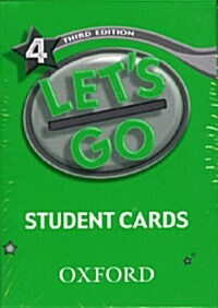 Lets Go: 4: Student Cards (Cards)