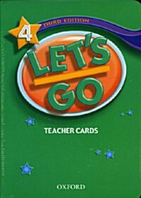 Lets Go: 4: Teacher Cards (Cards)