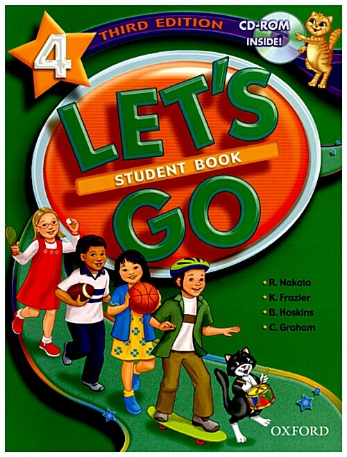 Lets Go: 4: Student Book with CD-ROM Pack (Package)