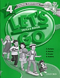Lets Go: 4: Skills Book with Audio CD Pack (Package)