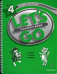 Lets Go: 4: Teachers Book (Paperback)