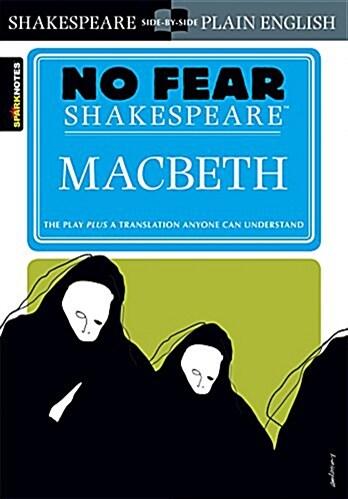 [중고] Macbeth (No Fear Shakespeare), Volume 1 (Paperback, Study Guide)