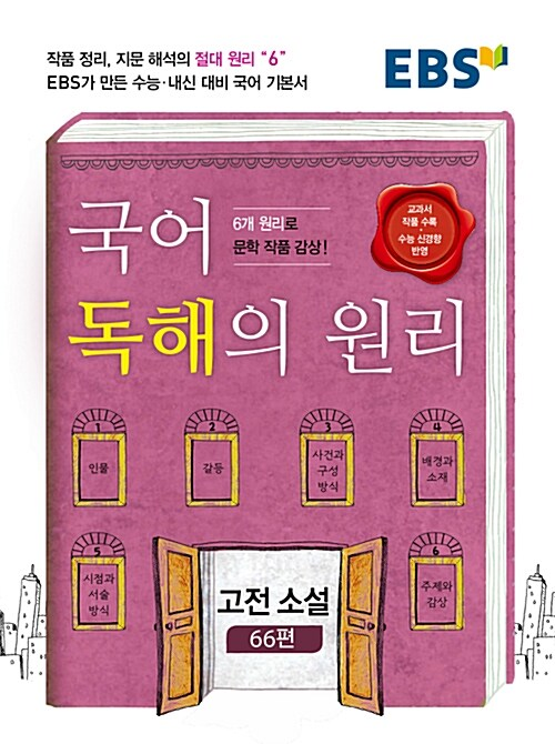 EBS 국어 독해의 원리 고전 소설 66편 (2019년용)