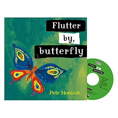 Pictory Set IT-18 / Flutter by, Butterfly (Hardcover + CD)