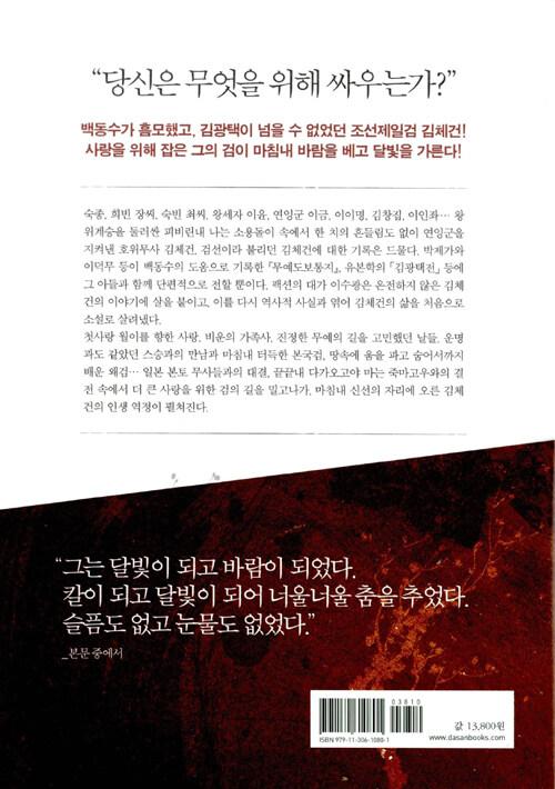 조선제일검 김체건 : 이수광 역사무협소설