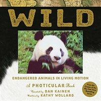 Wild: Endangered Animals in Living Motion (Hardcover)