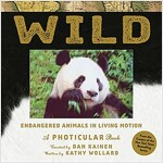 Wild: Endangered Animals in Living Motion (Hardcover)