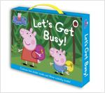 Peppa Pig Let's Get Busy Carry Case (5 Paperback + Carry Case)